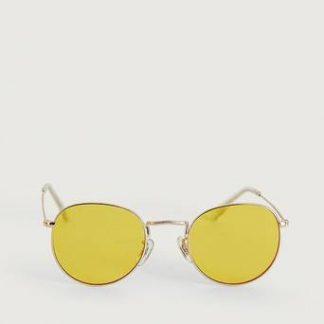 A.Kjærbede Solglasögon Hello Guld