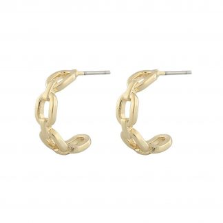 Anchor ring ear Earring, ONE SIZE
