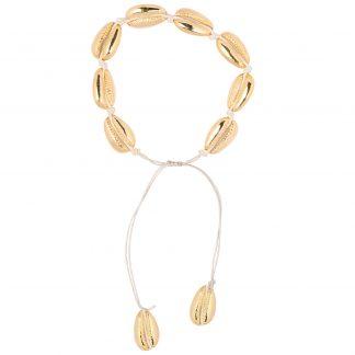 Armband Snäckor Guld