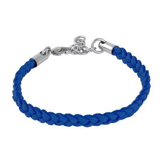 Armband i mörkblå läder - Barn