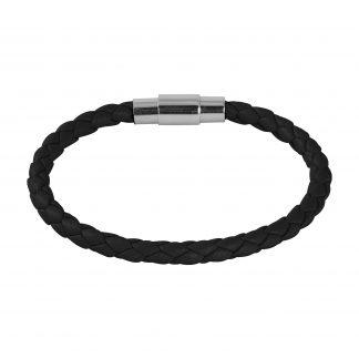 Armband i svart läder - Barn