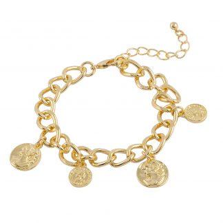Armband med berlocker Montini