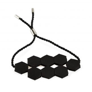 Armband silke svart