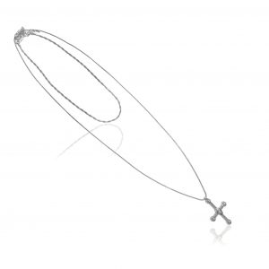 Berry Cross Necklace
