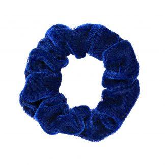 Blå Scrunchie Medium