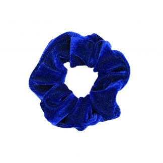 Blå Scrunchie Small