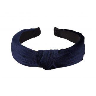 Diadem blå sammet