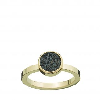 Estelle Ring Black Gold