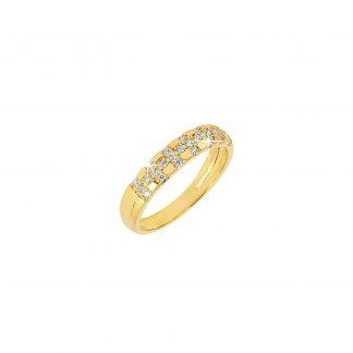 Guldpläterad Ring