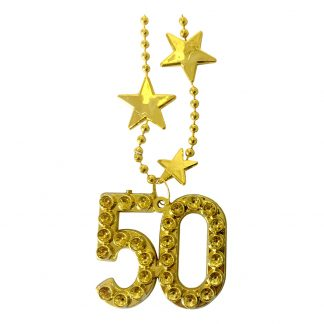 Halsband Guld Siffra 50
