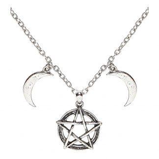 Halsband Halvmånar & Stjärna