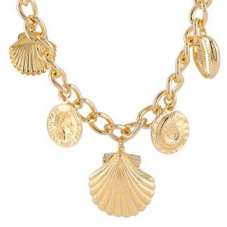 Halsband med berlocker Montini