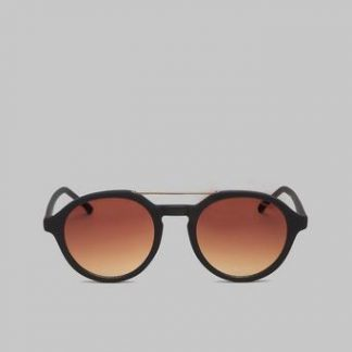 Komono Solglasögon Harper Black Rubber Svart