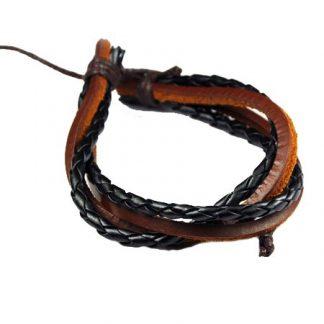 Läderarmband Balder