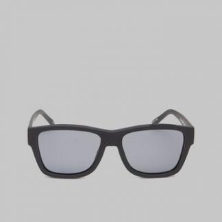 Le Specs The Force Black Rubber / Smoke Mono Lens Svart