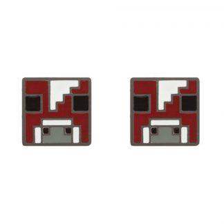 Minecraft Mooshroom Örhängen