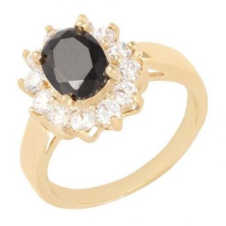 Noveau Vintage Ring Svart