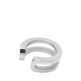 Split cuff silver, ONESIZE