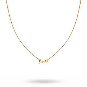 Syster P - Snap Love halsband, guld